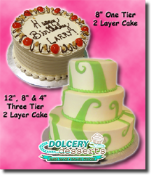 "Dolcery Desserts 8"" - 2 Layers Signature Cakes"