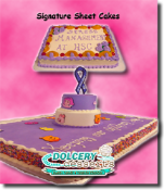 Dolcery Desserts Signature Sheet Cakes